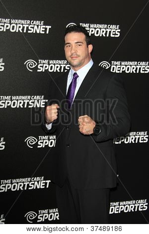 LOS ANGELES - OCT 30:  David Rodriguez arrives at the Time Warner Sports Launch of TWC Sportsnet at TWC Sports Studios on October 30, 2012 in El Segundo, CA