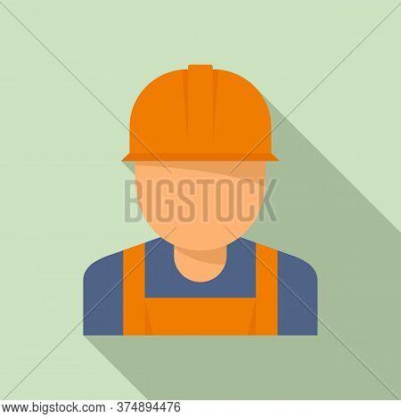Reconstruction Worker Icon. Flat Illustration Of Reconstruction Worker Vector Icon For Web Design