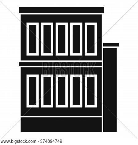 Building Reconstruction Icon. Simple Illustration Of Building Reconstruction Vector Icon For Web Des