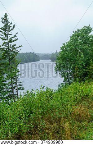 Landscape (near Broad Cove), In Cape Breton Highlands National Park, Nova Scotia, Canada