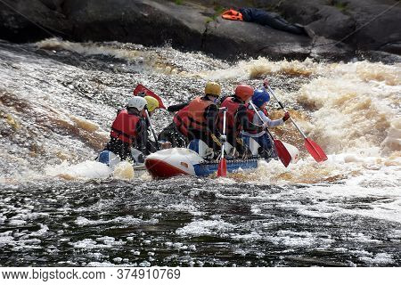 Rafting On Rafts And Kayaks, Open Competitions Of Karelia