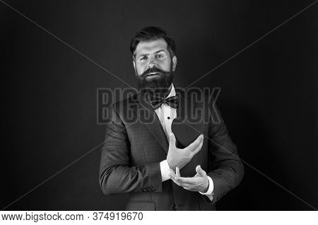 Stressful Occupation. Heart Of Business Life. More Physical Activity. Healthy Heart. Man Bearded Hip