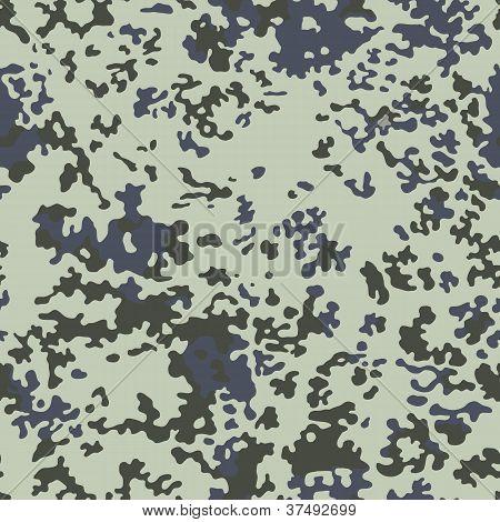 German Bundeswehr Desert Camouflage Seamless Pattern