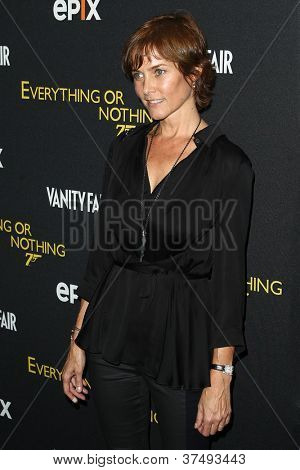 NEW YORK-OCT 3: Carey Lowell attends the 'Everything Or Nothing: The Untold Story Of 007' premiere at the Museum of Modern Art on October 3, 2012 in New York City