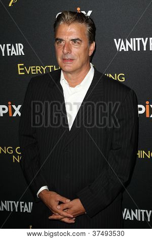 NEW YORK-OCT 3: Christopher Noth attends the 'Everything Or Nothing: The Untold Story Of 007' premiere at the Museum of Modern Art on October 3, 2012 in New York City