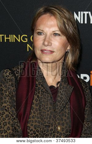 NEW YORK-OCT 3: Maud Adams attends 'Everything Or Nothing: The Untold Story Of 007' premiere at the Museum of Modern Art on October 3, 2012 in New York City