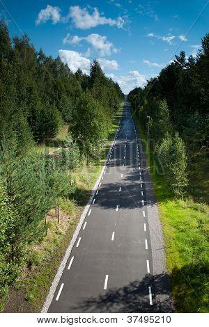 Light Traffic Road