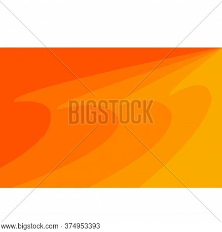 Abstract Orange Background Wave Background, Modern Texture Background, Color Gradation Elegant Backg