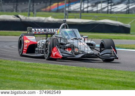 July 03, 2020 - Indianapolis, Indiana, USA: CONOR DALY (20) Of the United States  practices for the GMR Grand Prix at the Indianapolis Motor Speedway in Indianapolis, Indiana.