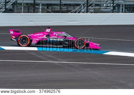 July 03, 2020 - Indianapolis, Indiana, USA: JACK HARVEY (60) of Lincoln, England practices for the GMR Grand Prix at the Indianapolis Motor Speedway in Indianapolis, Indiana.