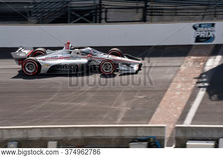 July 03, 2020 - Indianapolis, Indiana, USA: WILL POWER (12) of Toowoomba, Australia  qualifies for the GMR Grand Prix at Indianapolis Motor Speedway in Indianapolis, Indiana.