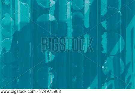 Abstract Turquoise, Celadon And Aquamarine Colors Background For Design.