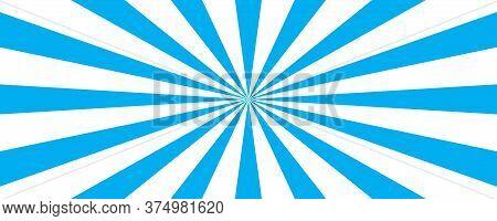 Sun Rays Background. Vector Sun Ray Background. Stock Vector.