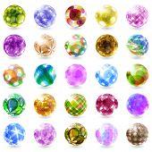 Jewel set. Vector illustration. poster