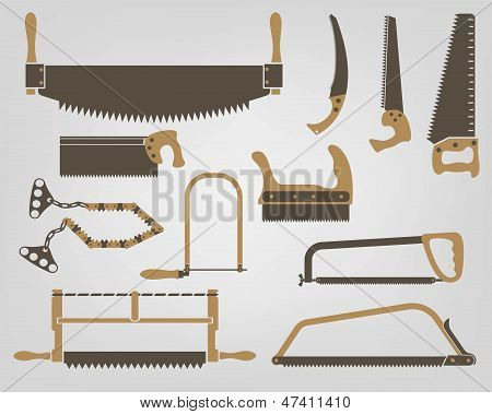 Saw. Manual bench tools