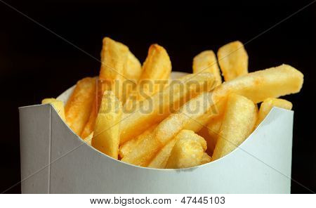 Fried Potato Wedges