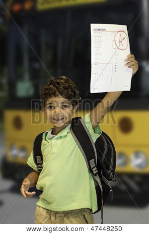 Child-School Bus