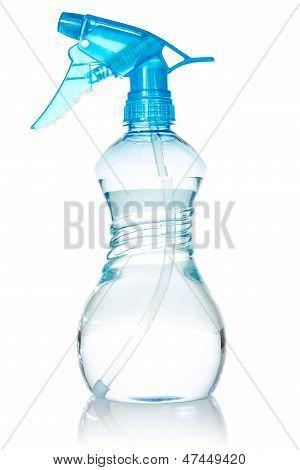 Blue Plastic Spray Bottle