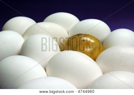 Golden Marble Egg