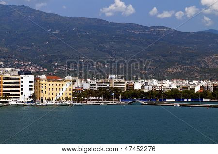 Volos city in Greece