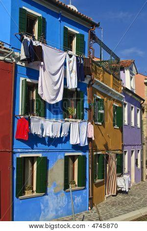 Laundry Blue House