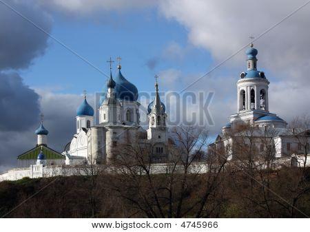 Orthodox Monastery In  Bogolubovo. Russia