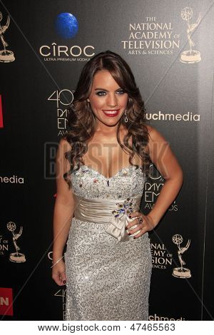 BEVERLY HILLS - JUN 16: Kristen Alderson at the 40th Annual Daytime Emmy Awards at The Beverly Hilton Hotel on June 16, 2013 in Beverly Hills, California