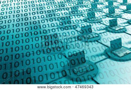 Integrierte Management-System in ein Datennetz