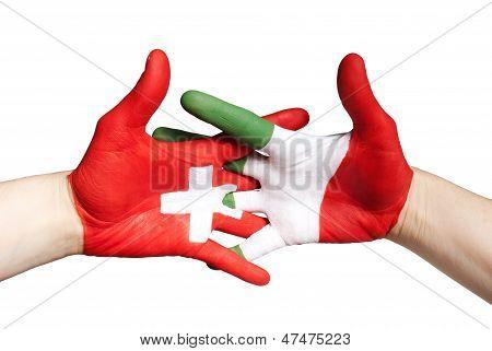 Switzerlands And Italy