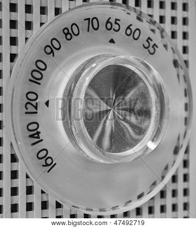 Antique AM Radio Dial