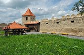 Rupea (Reps, Kohalom) newly renovated medieval fortress in Transylvania, Romania poster