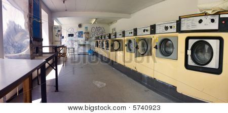 Launderette Washing Machine