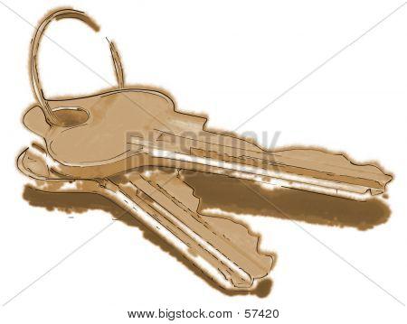 Stylised Keys...