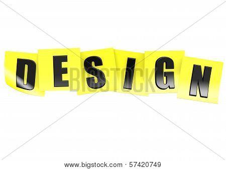 Design in note
