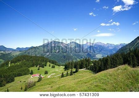 Alpine Meadow Allgau Germany