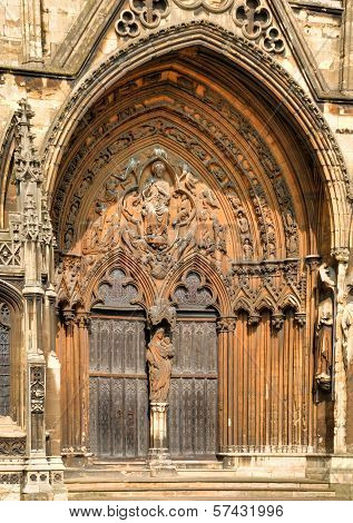 Lincoln Cathedral Doorway