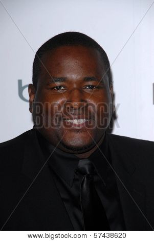 Quinton Aaron at the Hollywood Reporter's Nominee's Night at the Mayor's Residence, presented by Bing and MSN, Private Location, Los Angeles, CA. 03-04-10