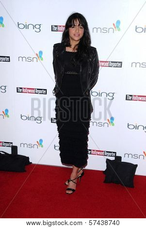 Michelle Rodriguez at the Hollywood Reporter's Nominee's Night at the Mayor's Residence, presented by Bing and MSN, Private Location, Los Angeles, CA. 03-04-10