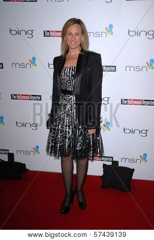 Marlee Matlin at the Hollywood Reporter's Nominee's Night at the Mayor's Residence, presented by Bing and MSN, Private Location, Los Angeles, CA. 03-04-10