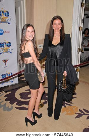Mimi Rogers and daughter Lucy  at the 2010 Night of 100 Stars Oscar Viewing Party, Beverly Hills Hotel, Beverly Hills, CA. 03-07-10