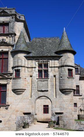 Entrance Chateau De Sedieres