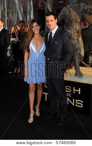 Cheryl Moana Marie and Antonio Sabato Jr. at the