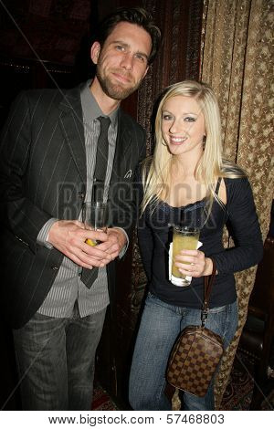 James Avallone and Kylee Reese  at the Playback Wrap Party, House of Blues, West Hollywood, CA. 04-04-10