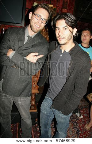 James Avallone and James Duval at the Playback Wrap Party, House of Blues, West Hollywood, CA. 04-04-10