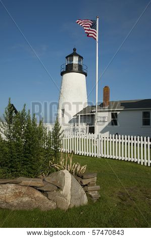 Pemaquid Lighthouse And Museum