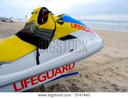 Lifeguards Jet Ski