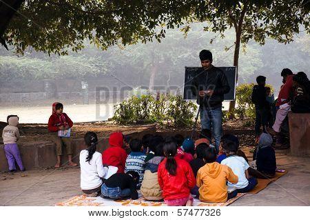 Open Air Classroom At Hauz Khas
