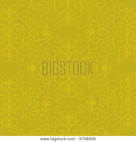 Yellow Design Background