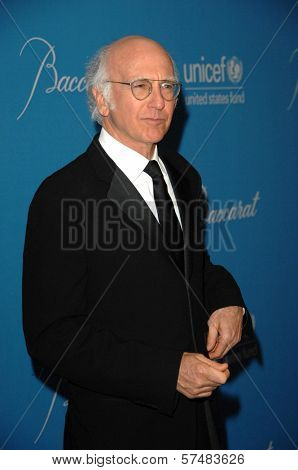 Larry David at the 2009 UNICEF Ball Honoring Jerry Weintraub, Beverly Wilshire Hotel, Beverly Hills, CA. 12-10-09
