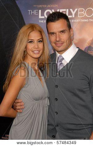 Antonio Sabato Jr. and Cheryl Moana Marie at the Los Angeles Premiere of